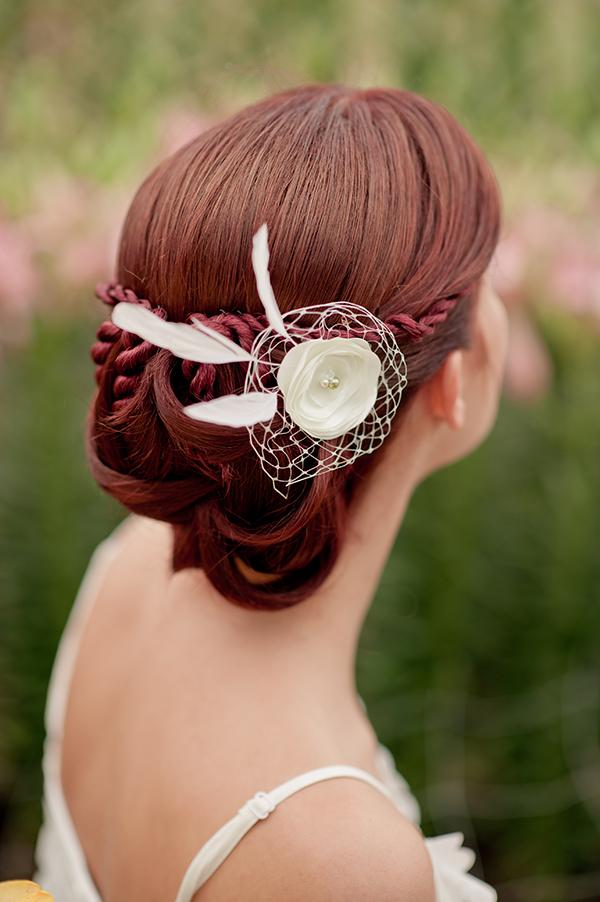 Headpiece Braut kurze Haare (5)