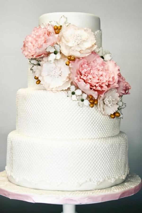 Hochzeitstorte weiss rosa (3)