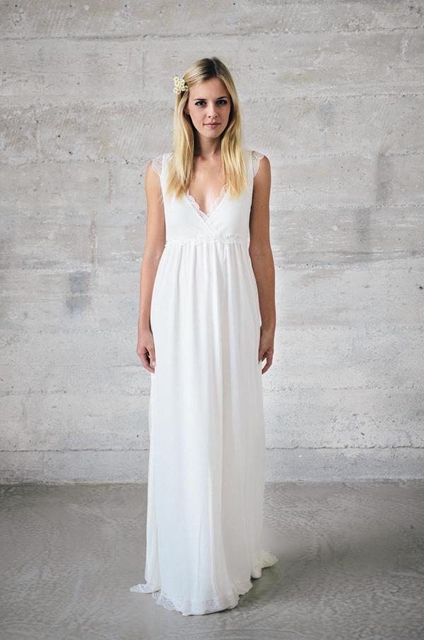 Kleid spitze weiss lang