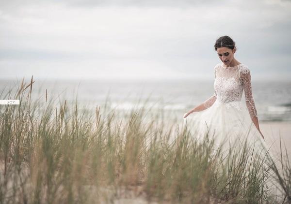 Brautkleid lange Arme Spitze