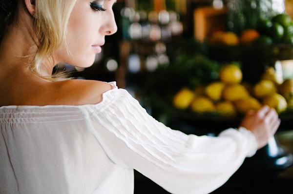 Brautkleid langer Arm