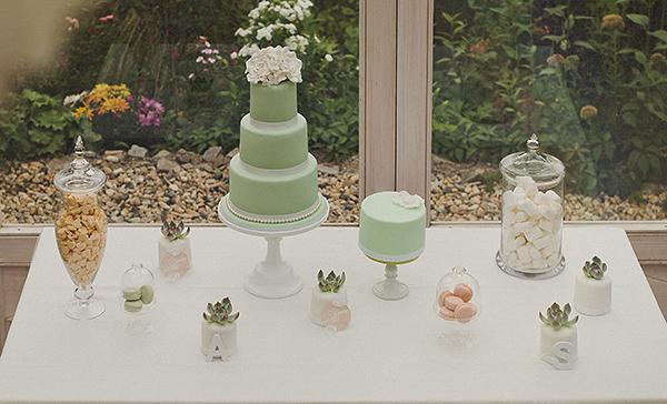 Hochzeit Torte mint (1)