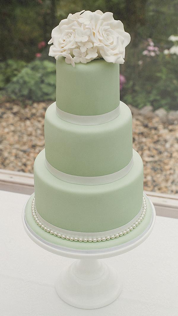 Hochzeit Torte mint (2)