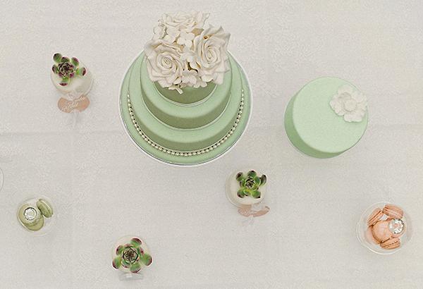 Hochzeit Torte mint (3)