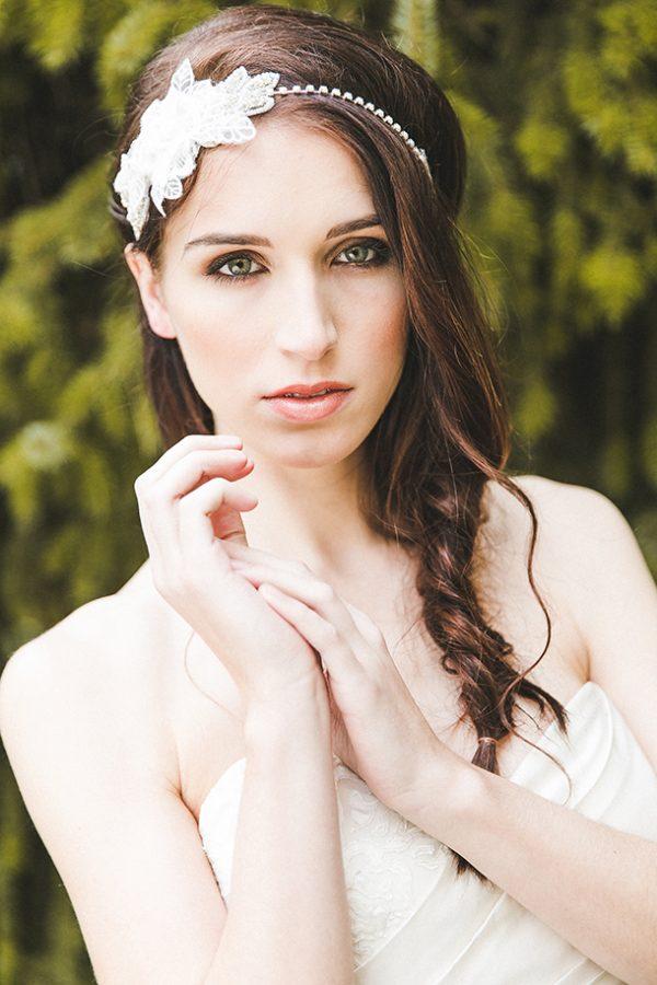 Ein Natürlich Elegantes Braut Make Up Für Braune Augen