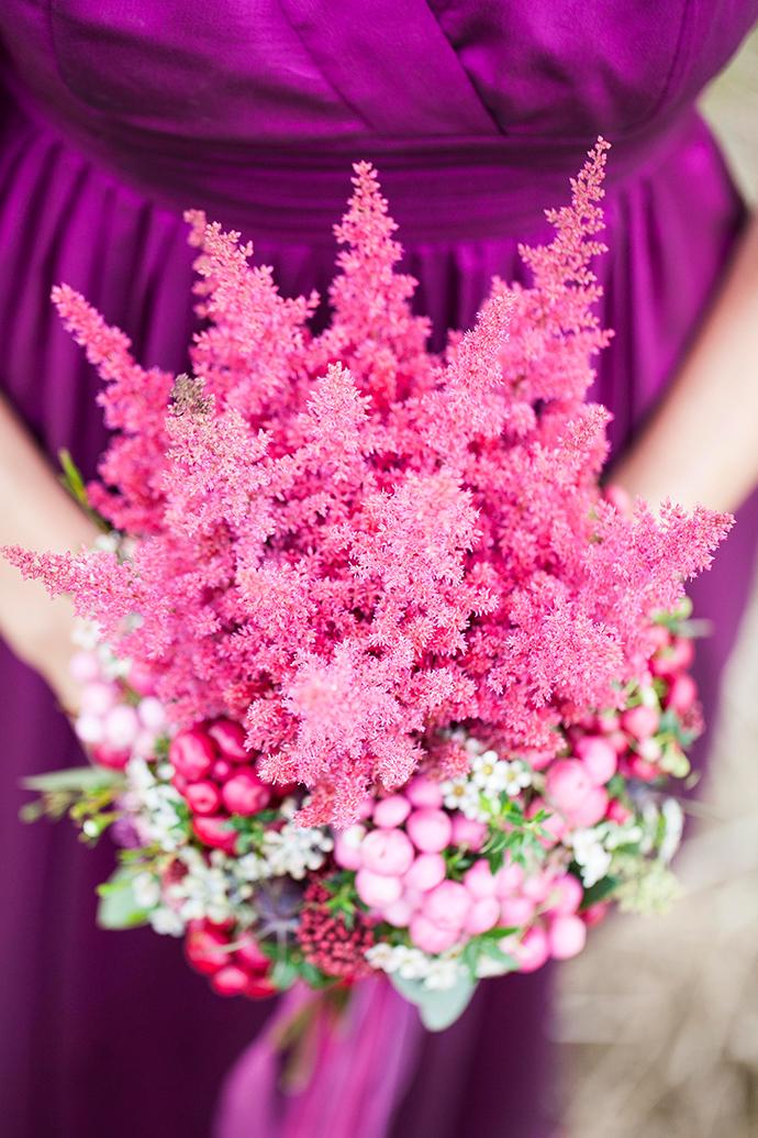 Brautstrauss lila pink (2)