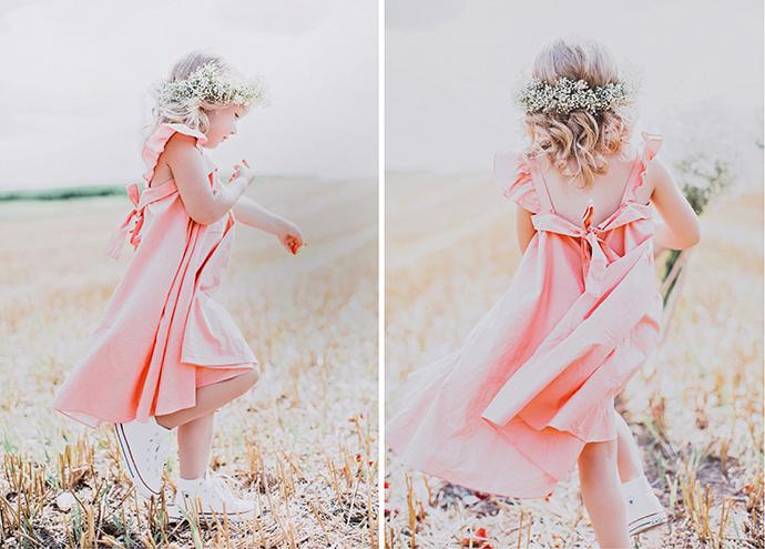 Kleid Blumenkind rosa