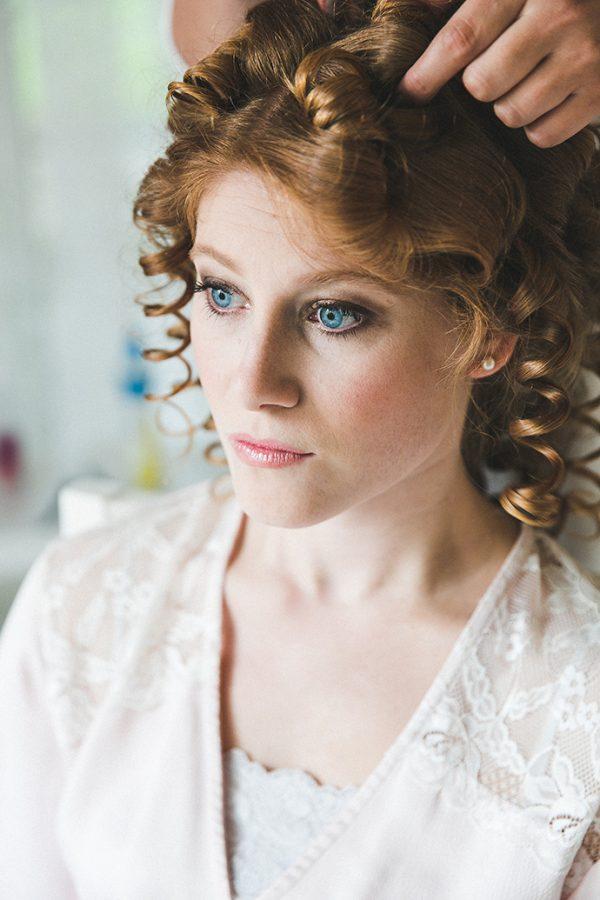 Make-Up Braut rote Haare (16)