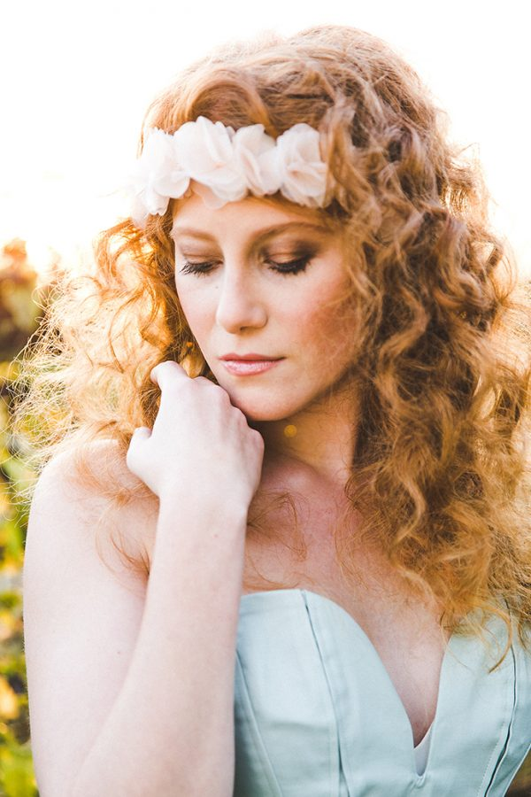 Make-Up Braut rote Haare (21)