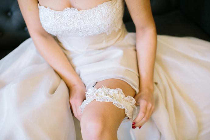 modernes Strumpfband Braut (1)
