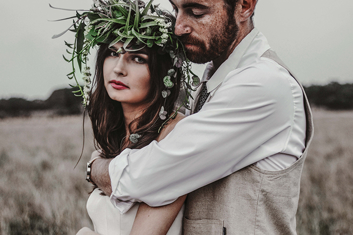 Blumenkranz Hochzeit Hippie (3)