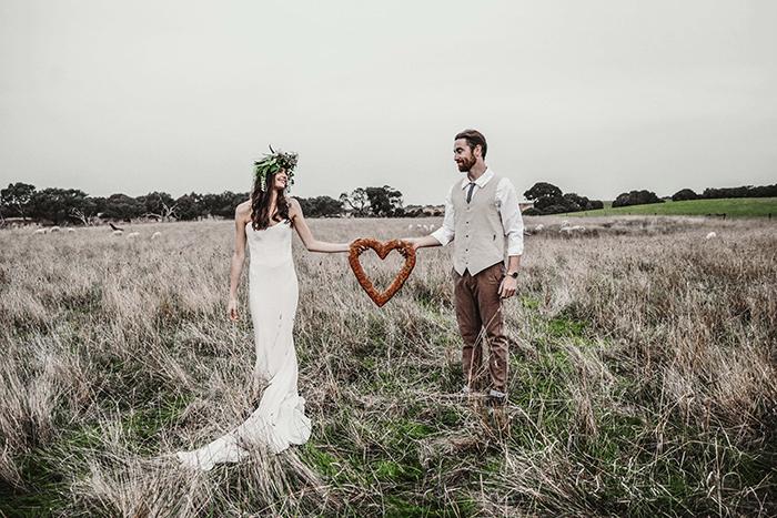 Blumenkranz Hochzeit Hippie (4)
