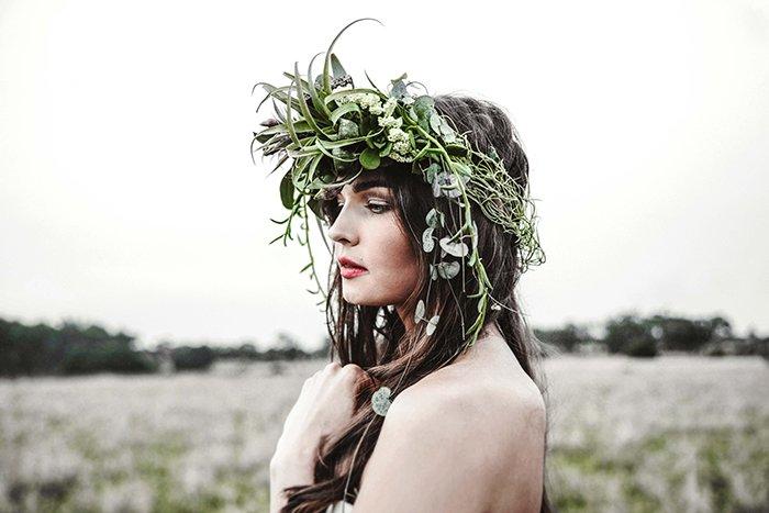 Blumenkranz Hochzeit Hippie (7)