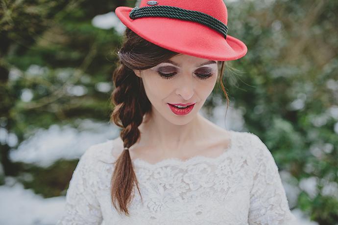 Braut mit Hut (3)