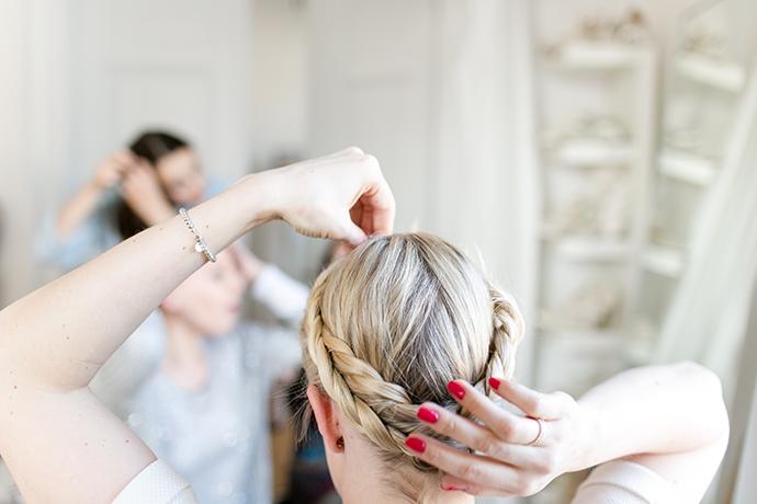 Haare flechten lernen (3)