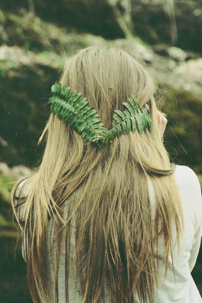 Haarkranz Braut Hippie