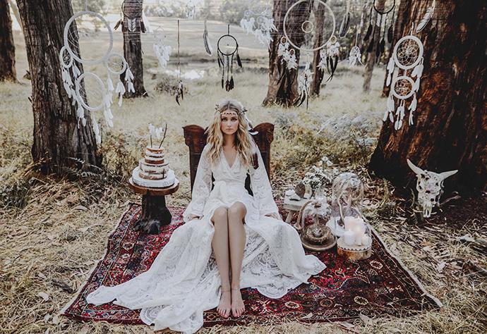 Hippie Hochzeit bohemian wedding (14)