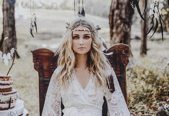 Hippie Hochzeit bohemian wedding (16)