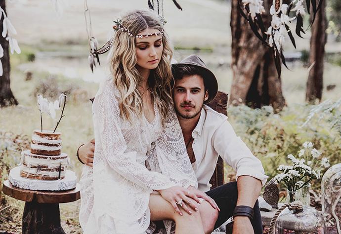 Hippie Hochzeit bohemian wedding (19)