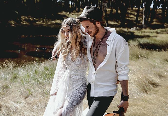 Hippie Hochzeit bohemian wedding (20)