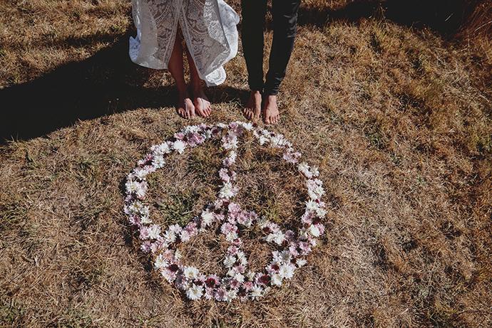 Hippie Hochzeit bohemian wedding (28)