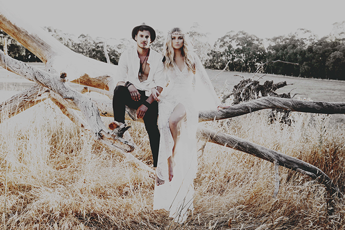 Hippie Hochzeit bohemian wedding (35)