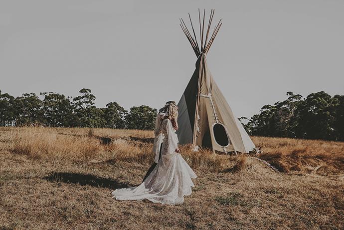 Hippie Hochzeit bohemian wedding (36)