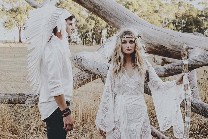 Hippie Hochzeit bohemian wedding (49)
