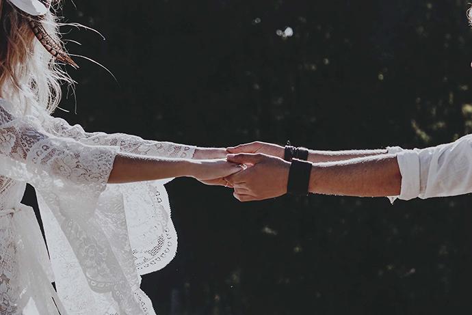 Hippie Hochzeit bohemian wedding (55)
