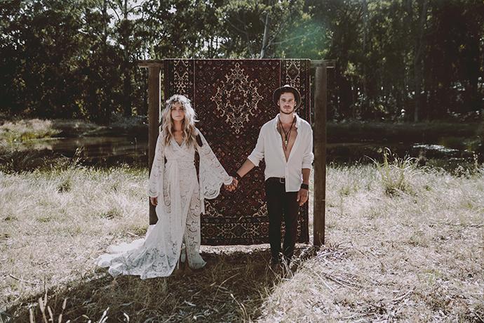 Hippie Hochzeit bohemian wedding (6)