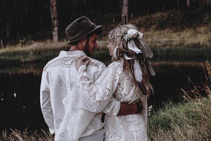 Hippie Hochzeit bohemian wedding (60)