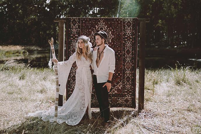 Hippie Hochzeit bohemian wedding (87)