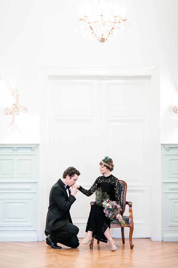 Hochzeit 20er Jahre schwarz (15)