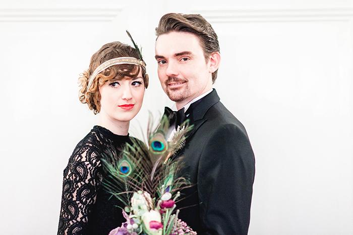 Hochzeit 20er Jahre schwarz (2)