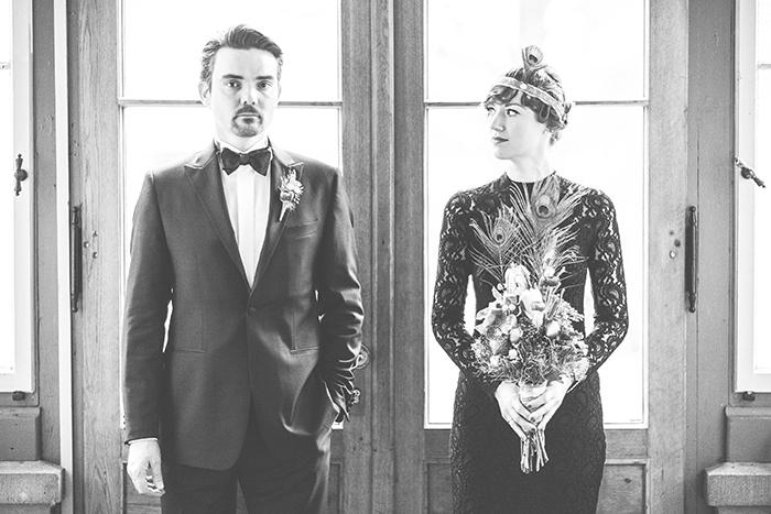 Hochzeit 20er Jahre schwarz (87)