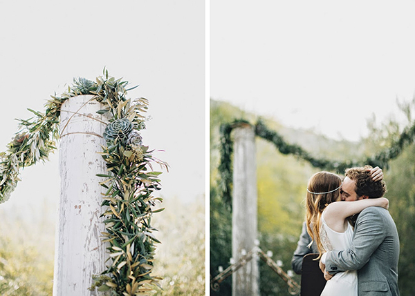 green bohemian wedding (2)
