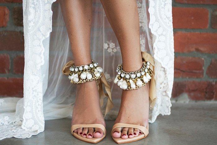 Shoe Lace Anklets