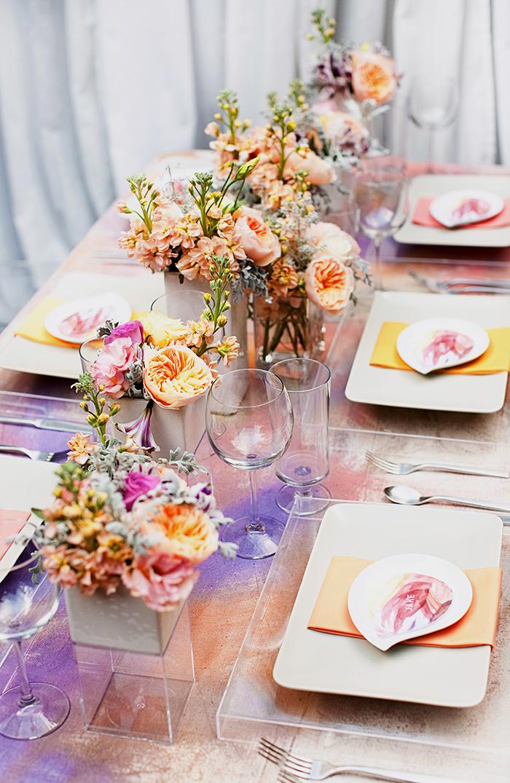 Ein großer Trend für Hochzeiten: Wasserfarben-Design  Friedatheres ...