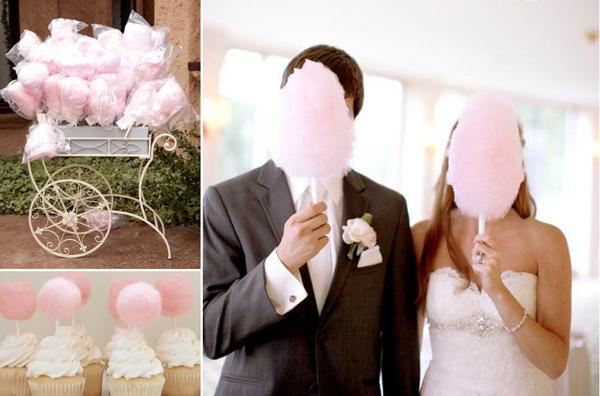 Hochzeit Zuckerwatte Ideen
