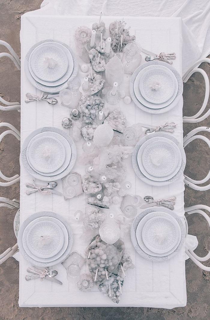 Hochzeitstisch weiss