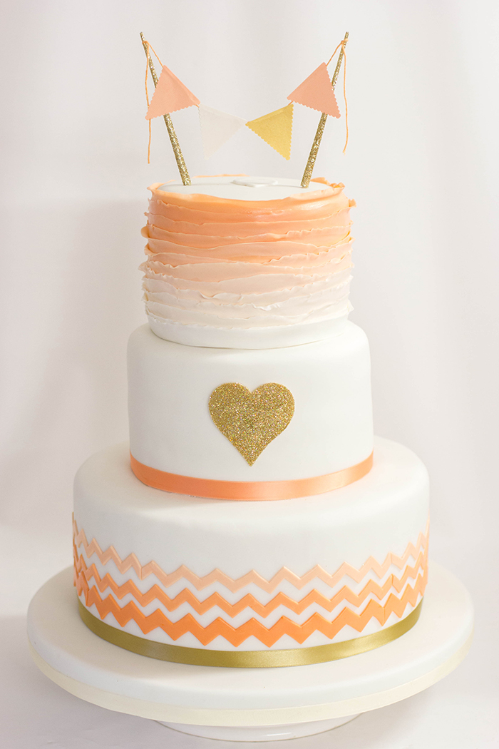 Hochzeitstorte mit Herz