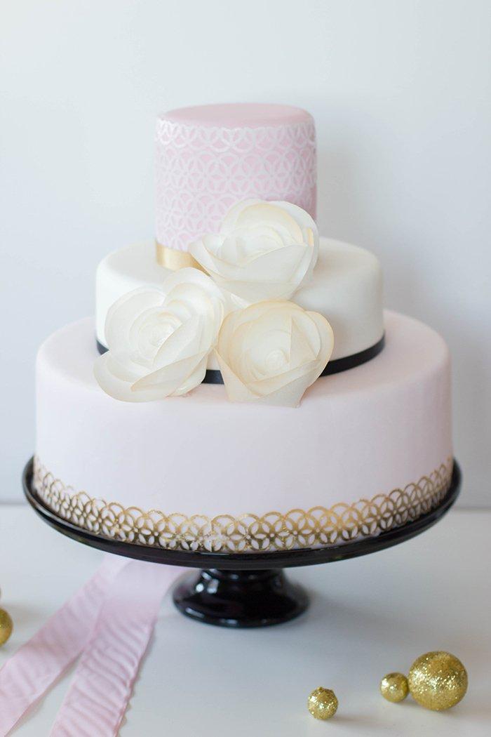 Hochzeitstorte rosa (5)