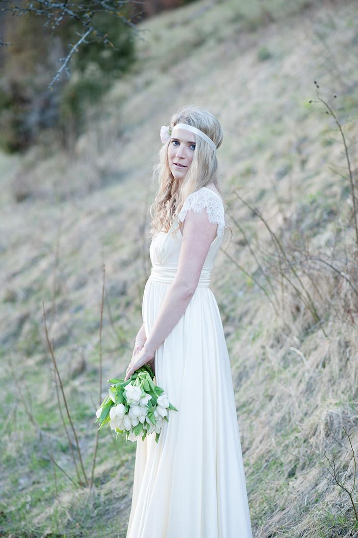 Brautkleid klassisch mit Spitze (24)