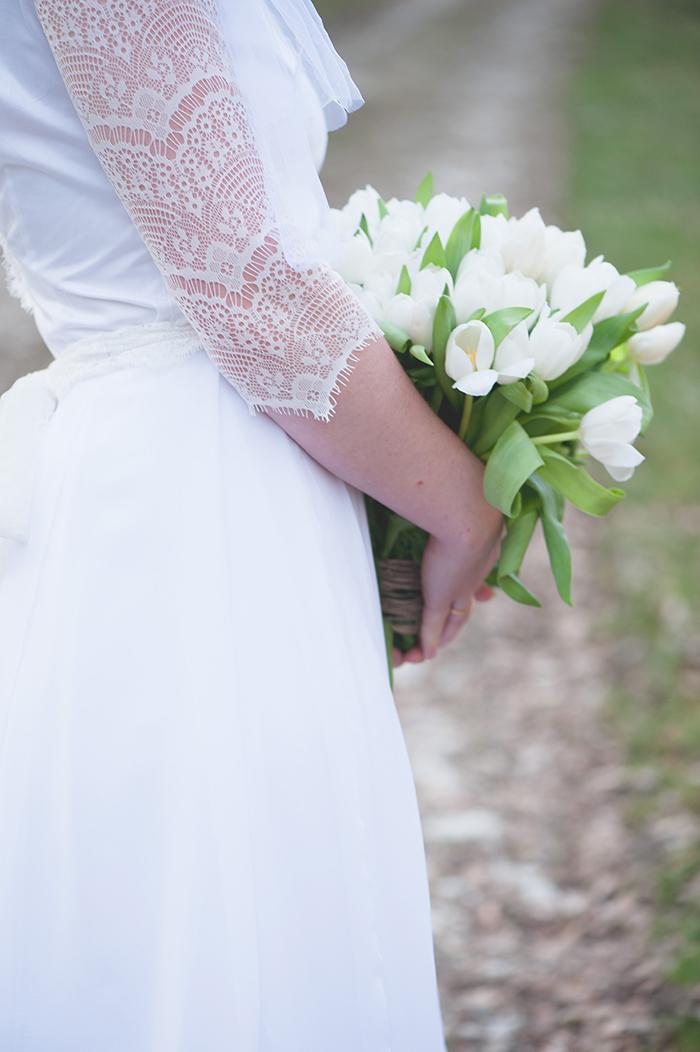 Brautkleid mit Spitze (50)