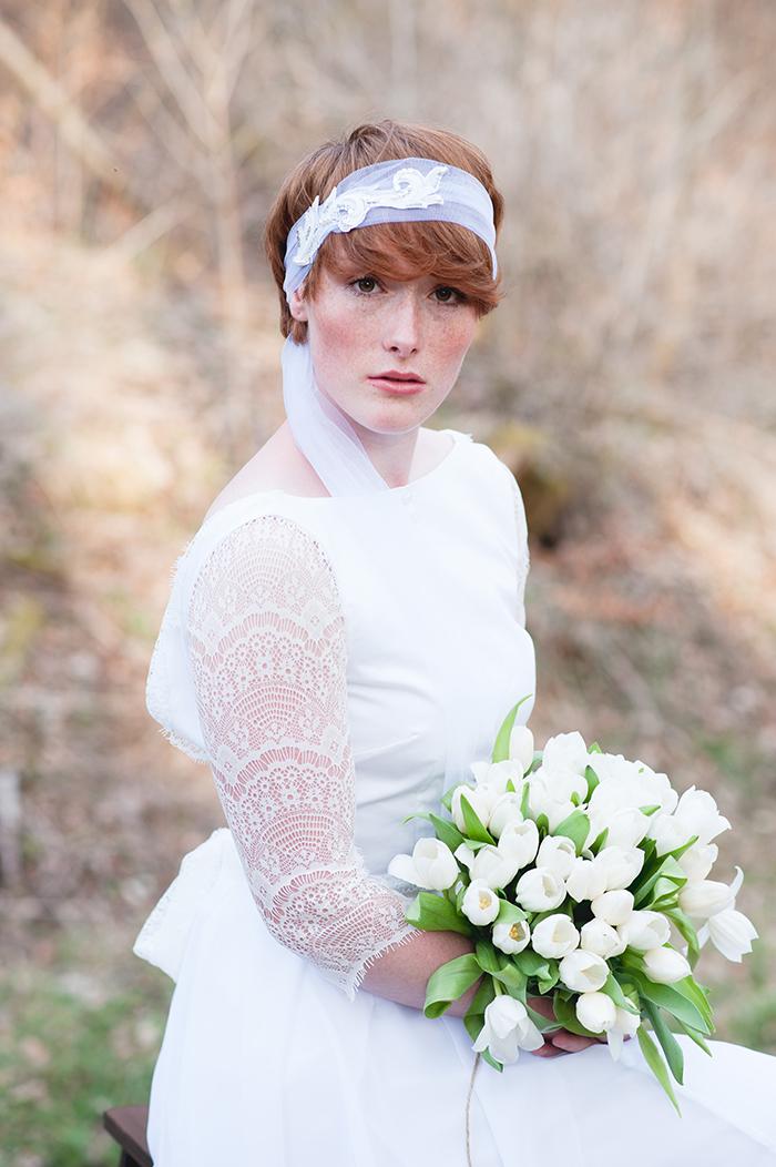 Brautkleid mit Spitze (80)