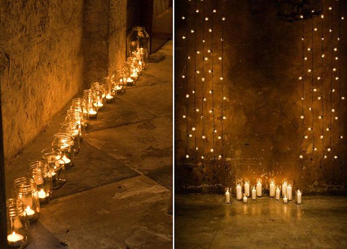 Lichterketten Und Kerzenideen Hochzeit Friedatheres Com