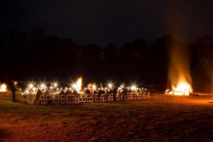 Lichterketten Hochzeit (1)