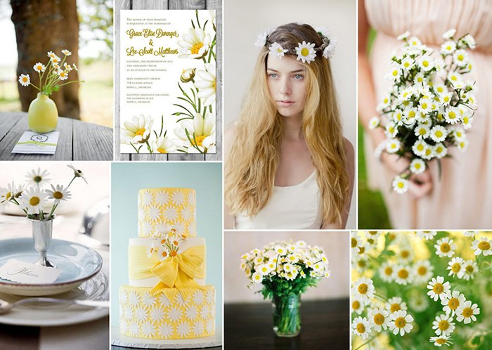 daisy wedding