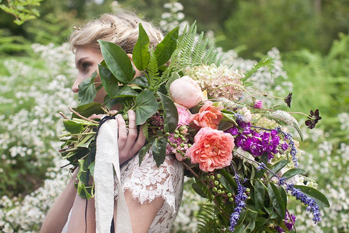 natuerlicher Brautstrauss