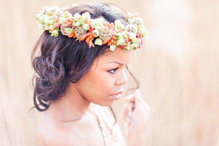 Blumenkranze Fur Die Braut Fur Den Winter